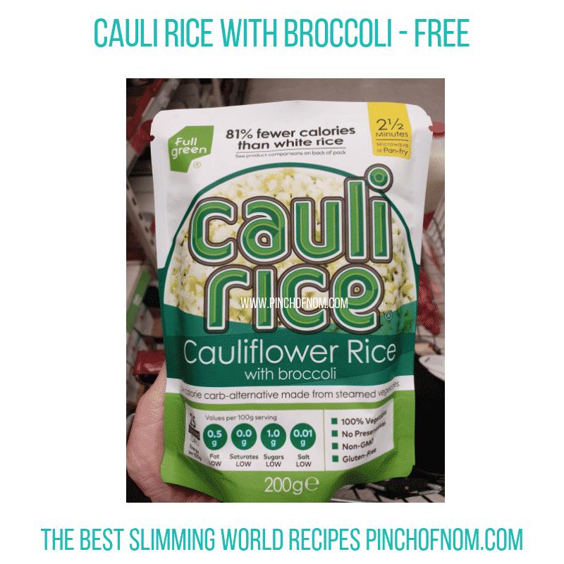 Cauli Rice Broc - Pinch of Nom Slimming World Shopping Essentials