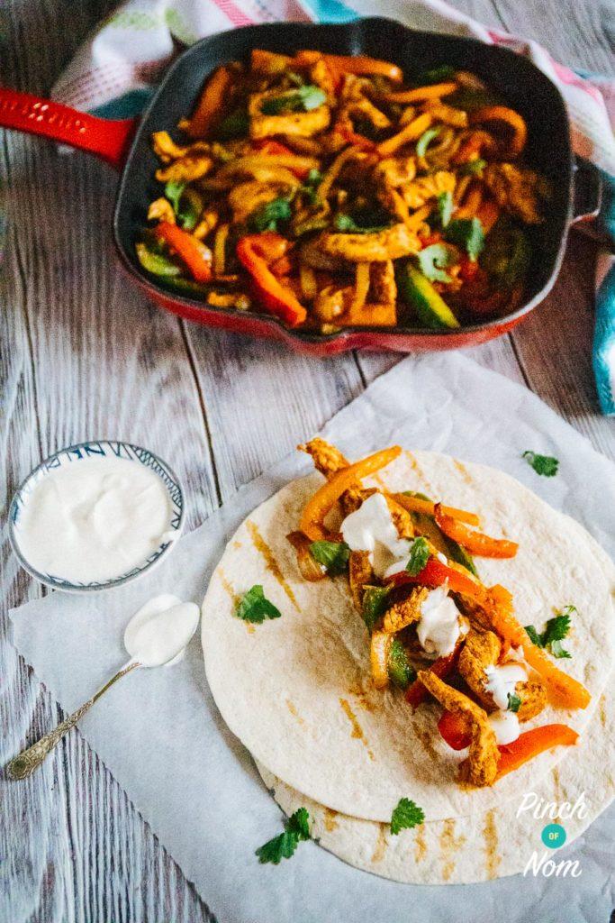 Chicken Fajitas | Slimming & Weight Watchers Friendly