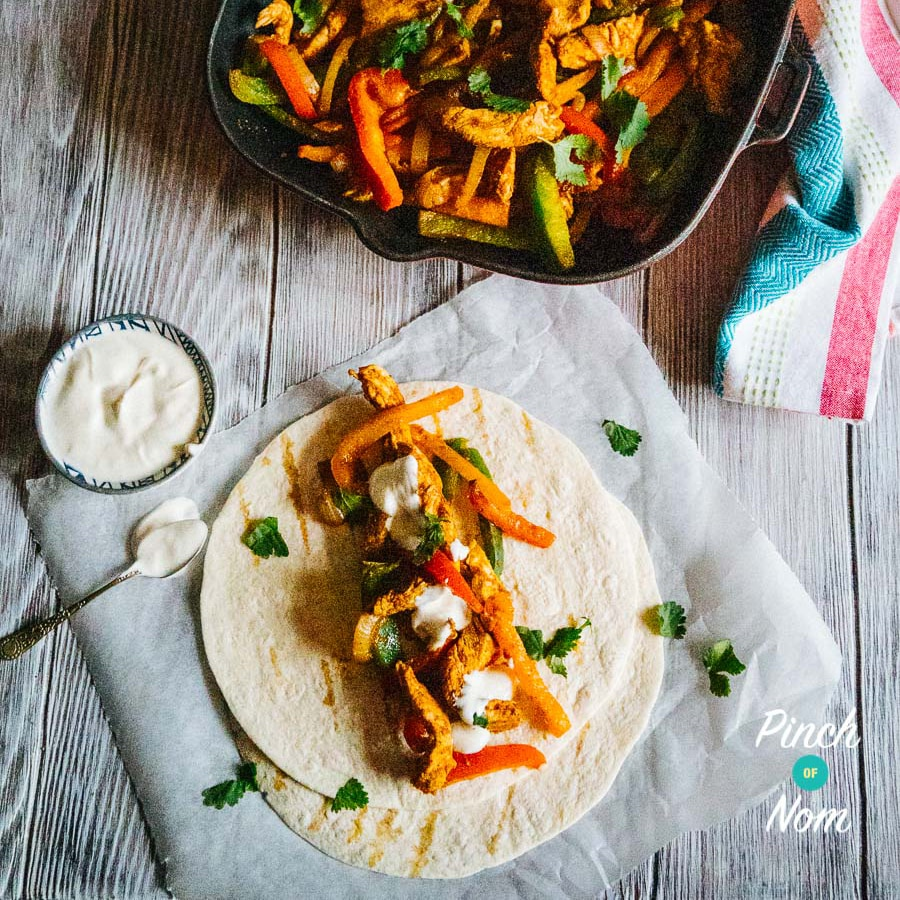 Chicken Fajitas | Slimming World & Weight Watchers Friendly