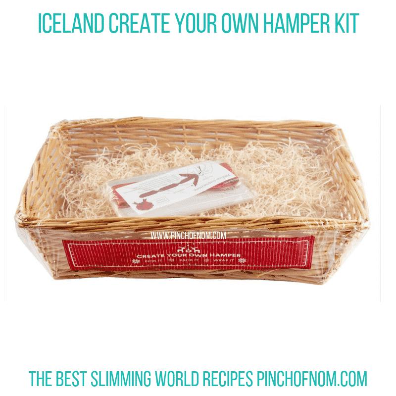 Iceland Hamper Kit - Pinch of Nom Slimming World Shopping Essentials