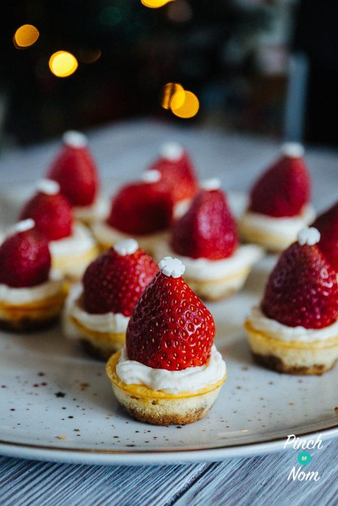 Santa New York Cheesecakes | Slimming World & Weight Watchers Friendly