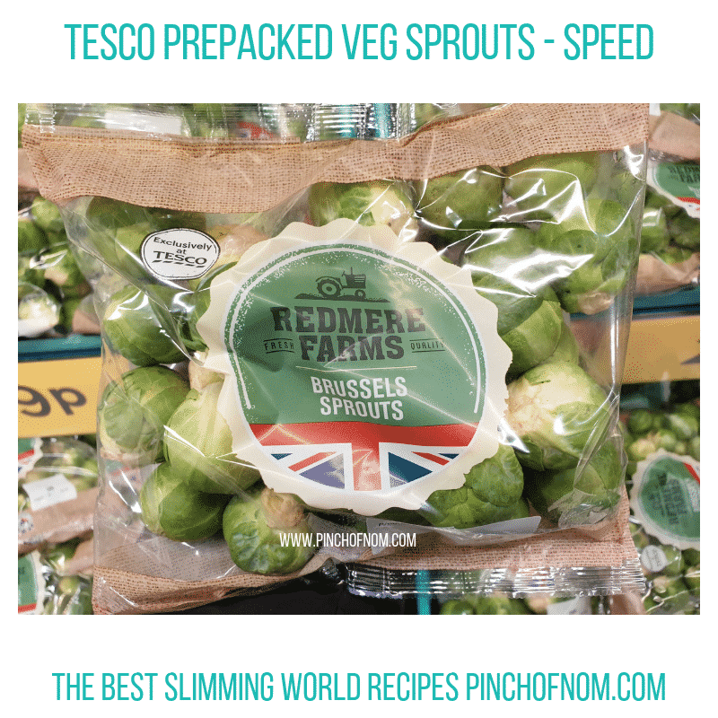 Tesco Sprouts - Pinch of Nom Slimming World Shopping Essentials