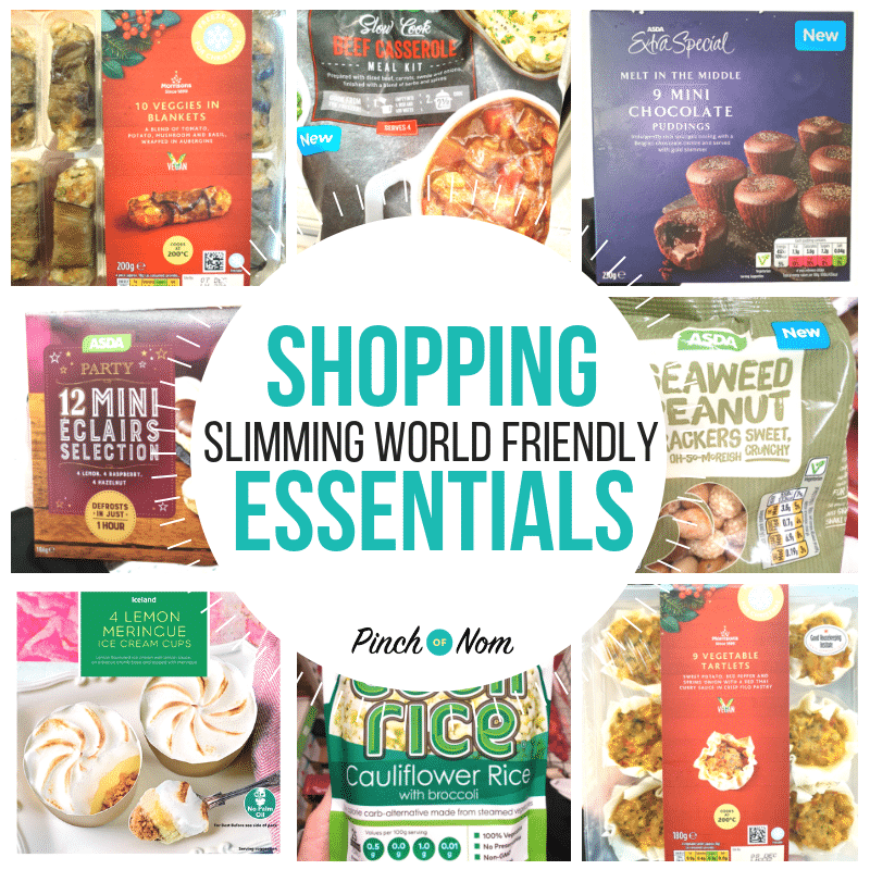 New Slimming World Shopping Essentials 7.12.18