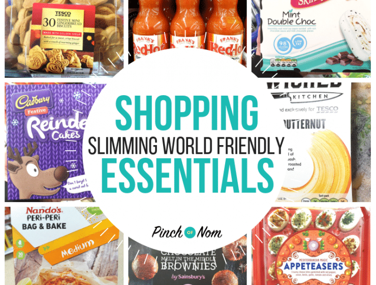 New Slimming World Shopping Essentials 14.12.18