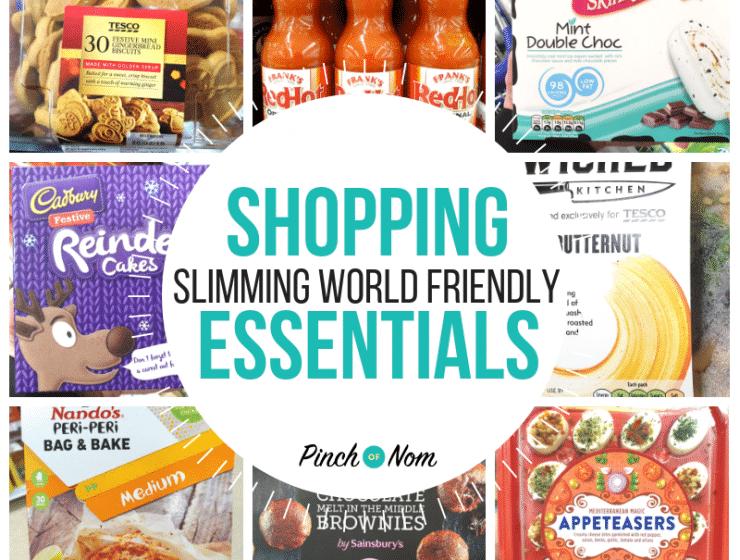 New Slimming World Shopping Essentials 14.12.18