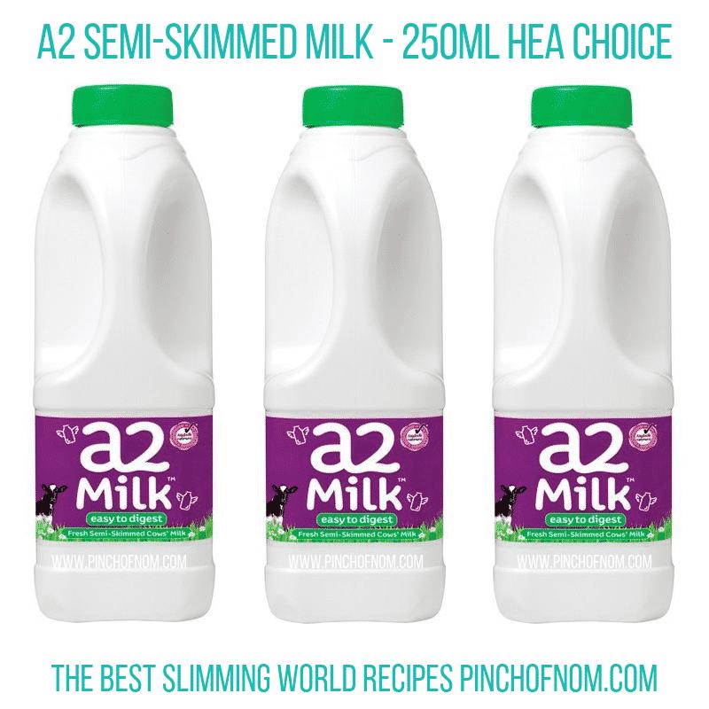 A2 Skimmed Milk - Pinch of Nom Slimming World Shopping Essentials
