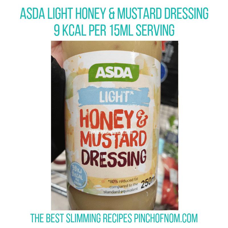 Asda Light Honey Mustard - Pinch of Nom Slimming World Shopping Essentials