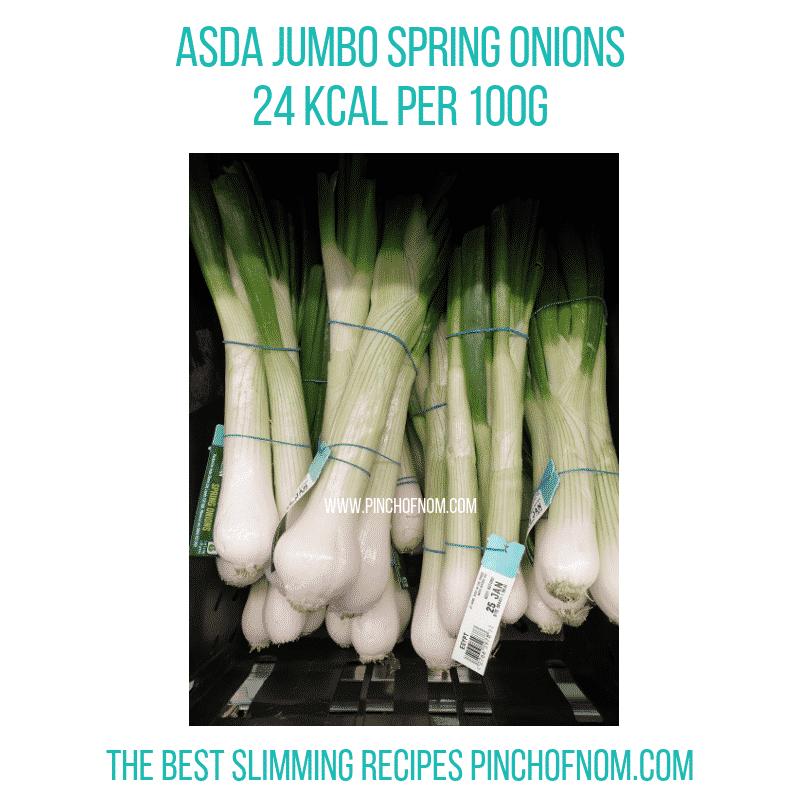 Asda Jumbo Spring Onions - Pinch of Nom Slimming World Shopping Essentials
