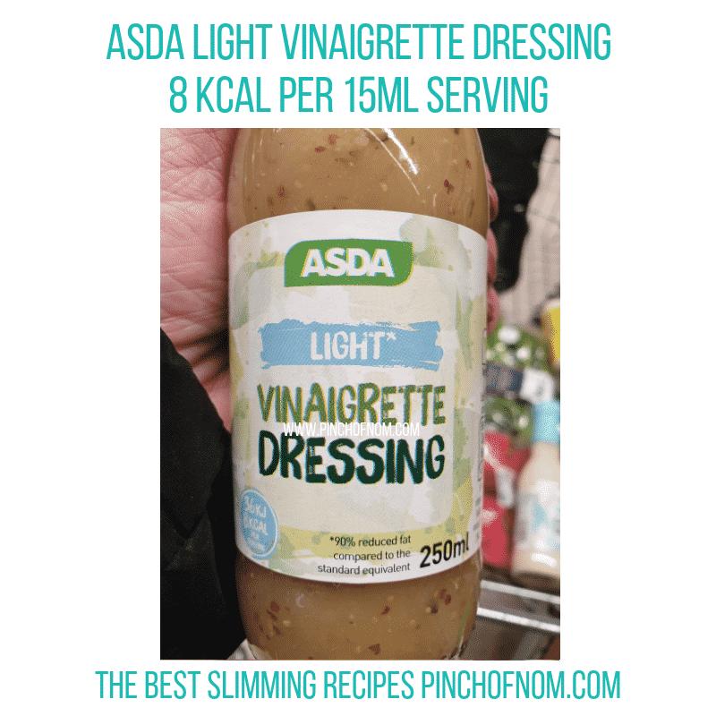 Asda Light Vinaigrette - Pinch of Nom Slimming World Shopping Essentials