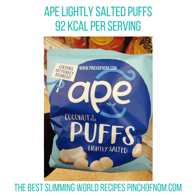 Ape Lightly Salted - Pinch of Nom Slimming World Shopping Essentials