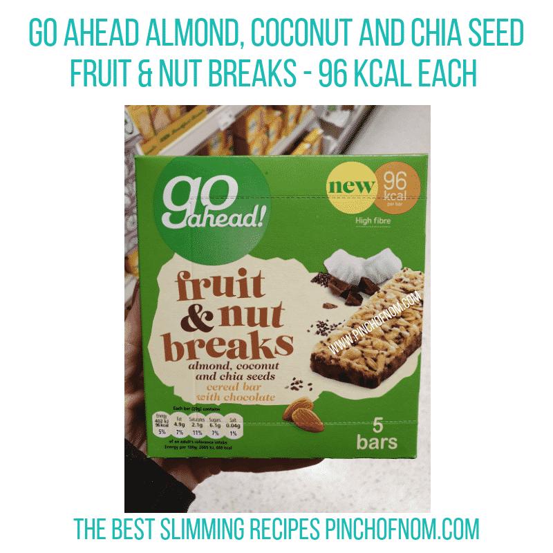 Go Ahead Fruit & Nut Breaks - Pinch of Nom Slimming World Shopping Essentials