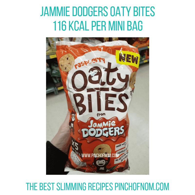 Jammie Dodgers Oaty Bites - Pinch of Nom Slimming World Shopping Essentials