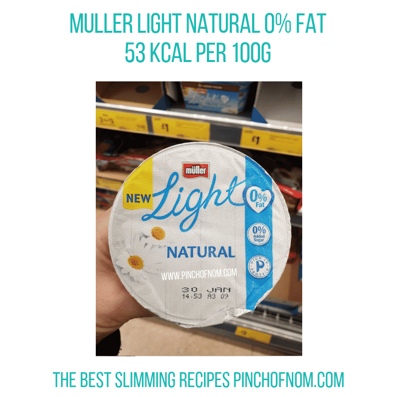 Muller Light Natural 0% - Pinch of Nom Slimming World Shopping Essentials