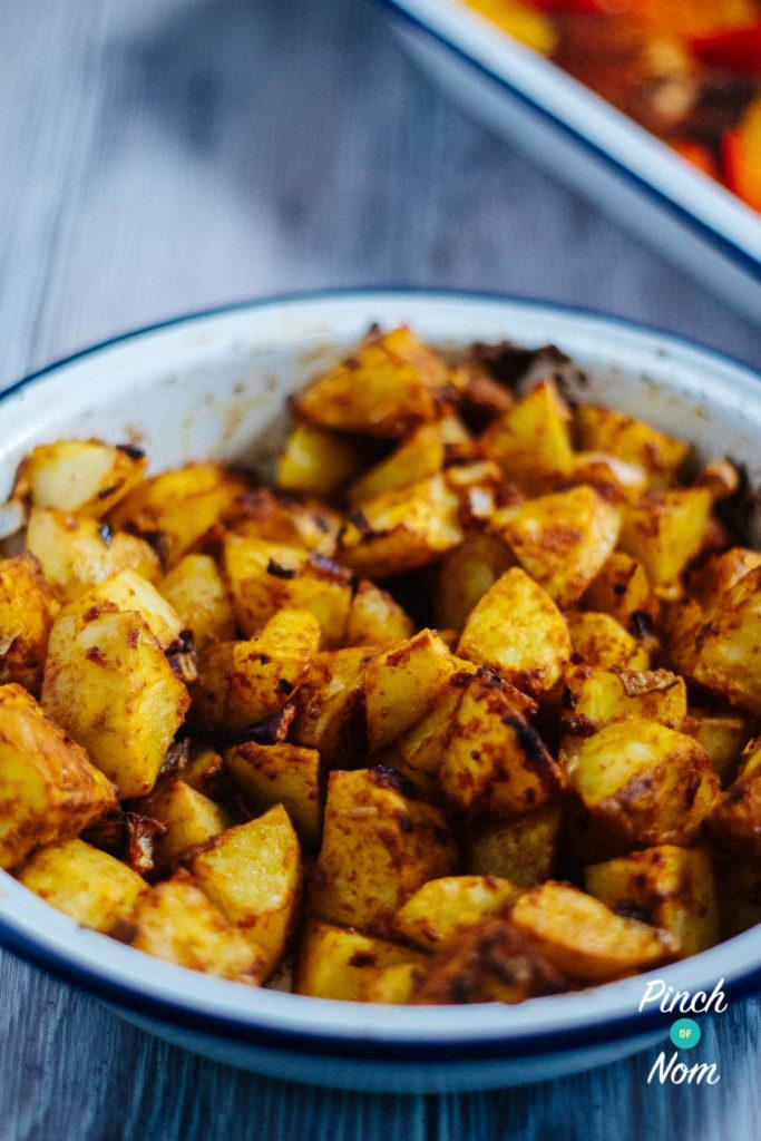 Mexican Potatoes | Slimming & Weight Watchers Friendly