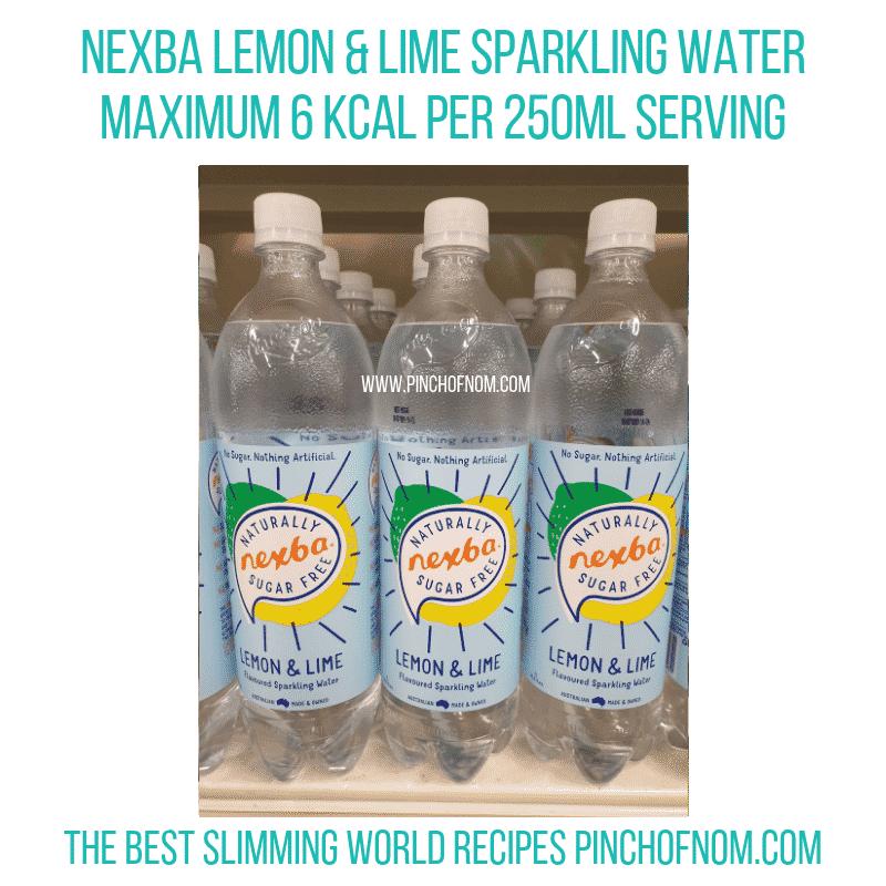 Nexba lemon lime - Pinch of Nom Slimming World Shopping Essentials