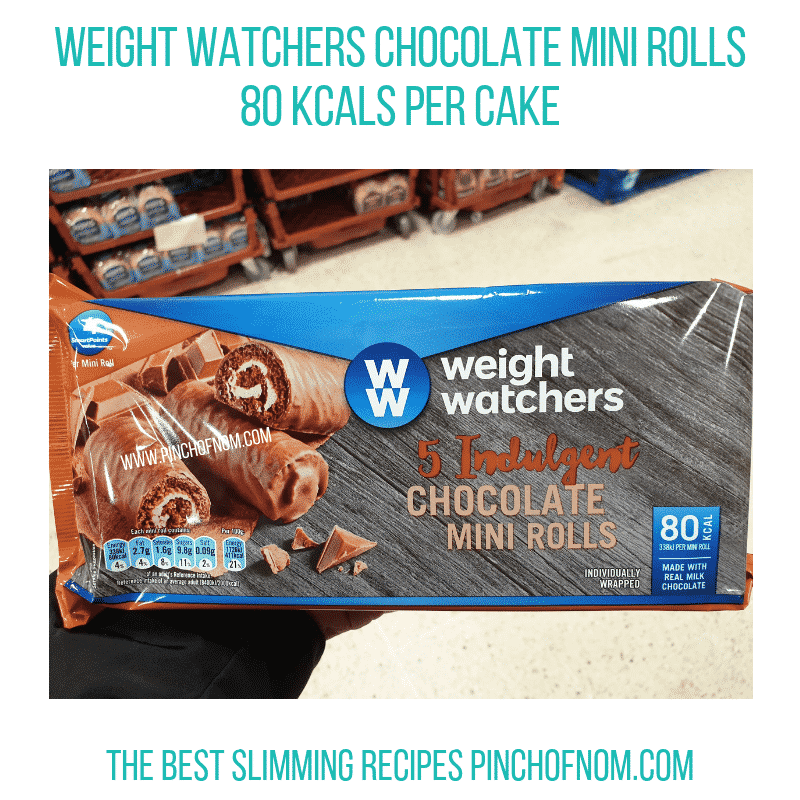 WW Choc Mini Rolls - Pinch of Nom Slimming World Shopping Essentials
