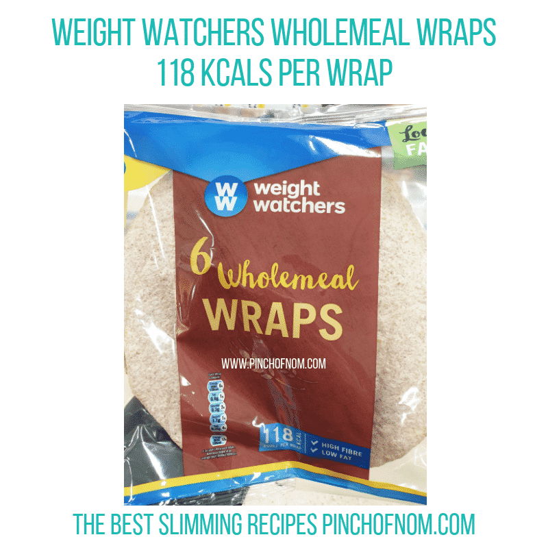 WW Wholemeal Wraps - Pinch of Nom Slimming World Shopping Essentials