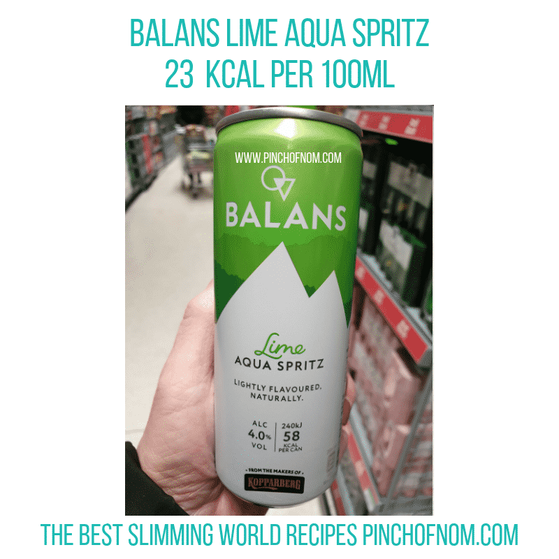 Balans lime Pinch of Nom Slimming World Shopping Essentials