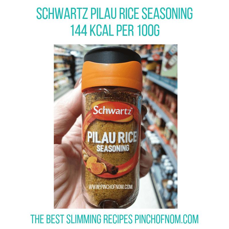 schwartzpilau - Pinch of Nom Slimming World Shopping Essentials