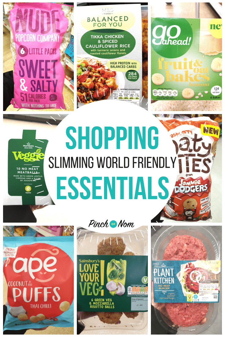 New Slimming Shopping Essentials 18.1.19