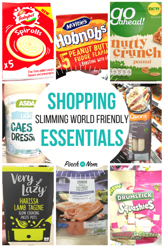 New Slimming Shopping Essentials 25.1.19