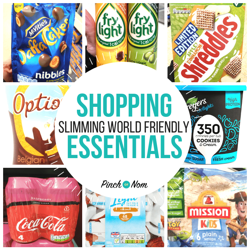 New Slimming Shopping Essentials 4.1.19