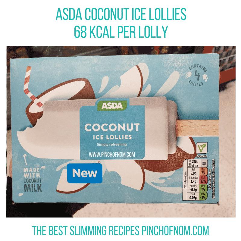 asdacoconutlollies - Pinch of Nom Slimming World Shopping Essentials