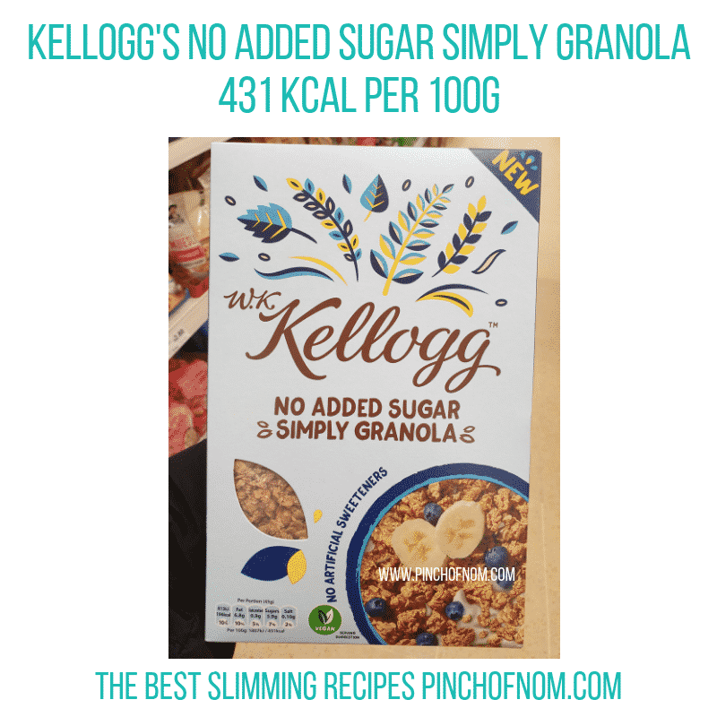 kelloggssimplygranola - Pinch of Nom Slimming World Shopping Essentials