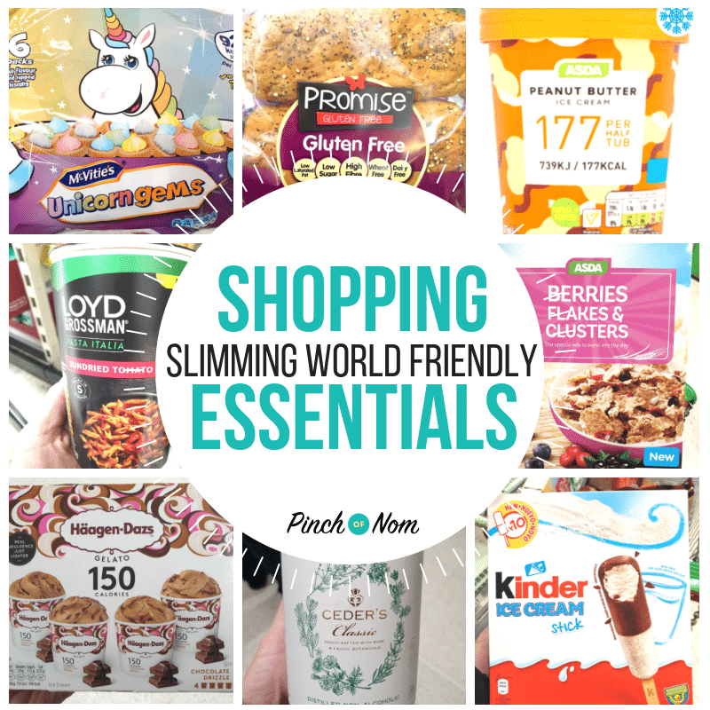 New Slimming Shopping Essentials 15.2.19