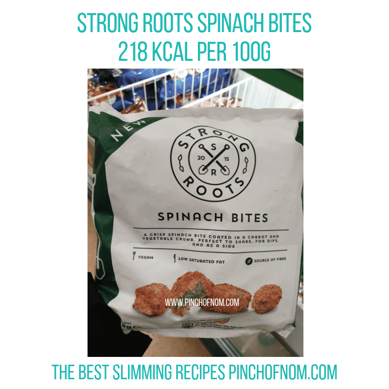 strongrootsspinachbites - Pinch of Nom Slimming World Shopping Essentials