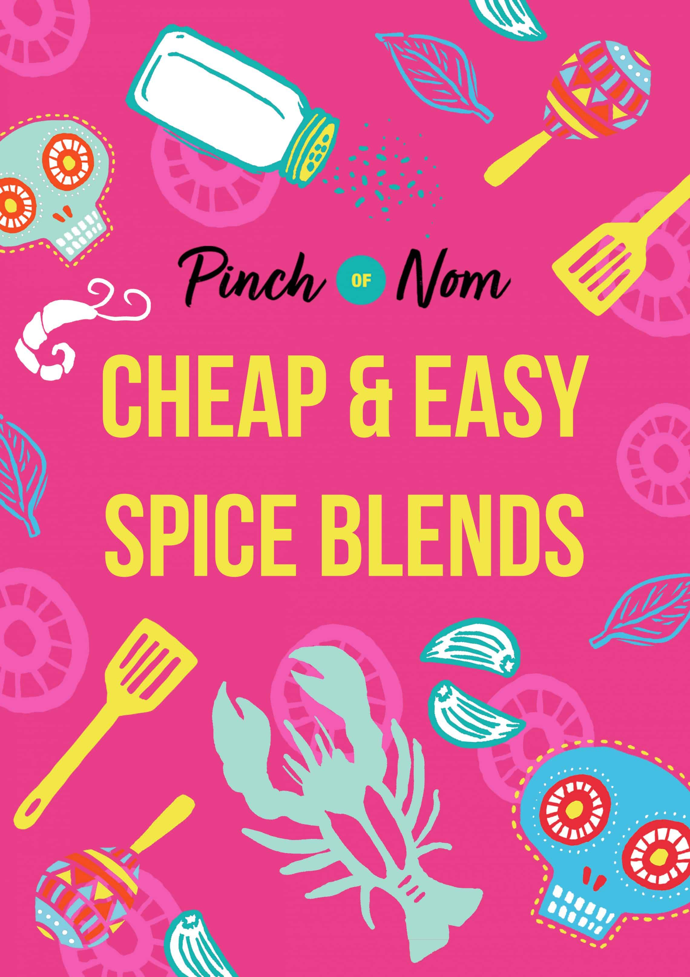 Cheap & Easy Spice Blends | Slimming World & Weight Watchers Friendly
