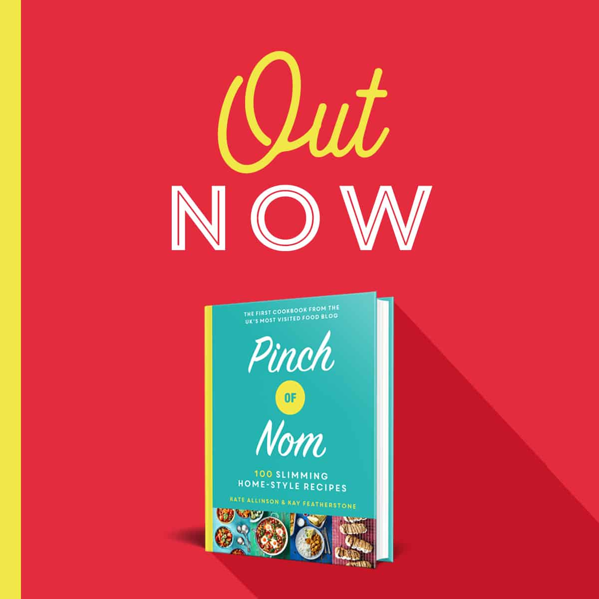 Pinch Of Nom Cookbook - preorder