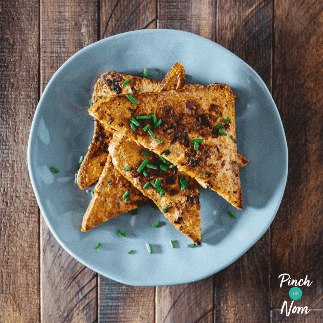 Bacon & Chive Eggy Bread
