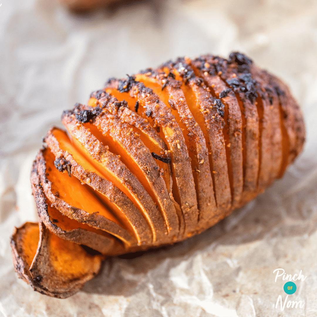 Chipotle Sweet Potato Hasselbacks