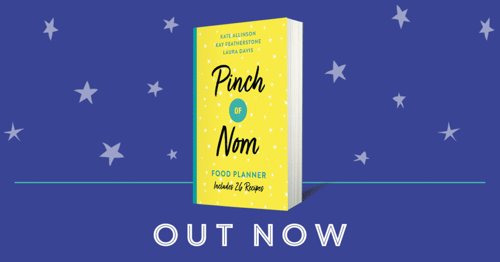Pinch of nom planner out now