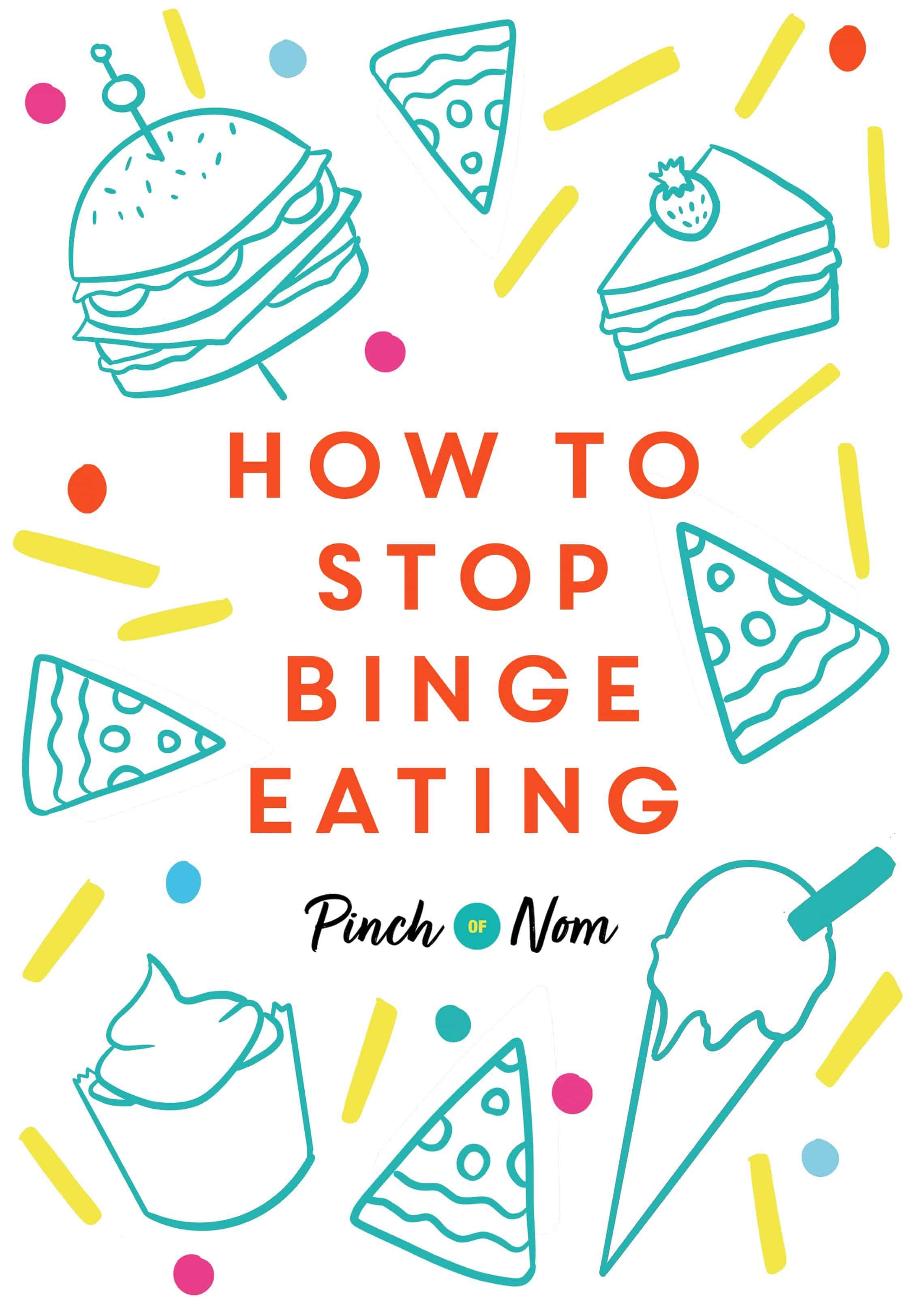 How to Stop Binge-Eating