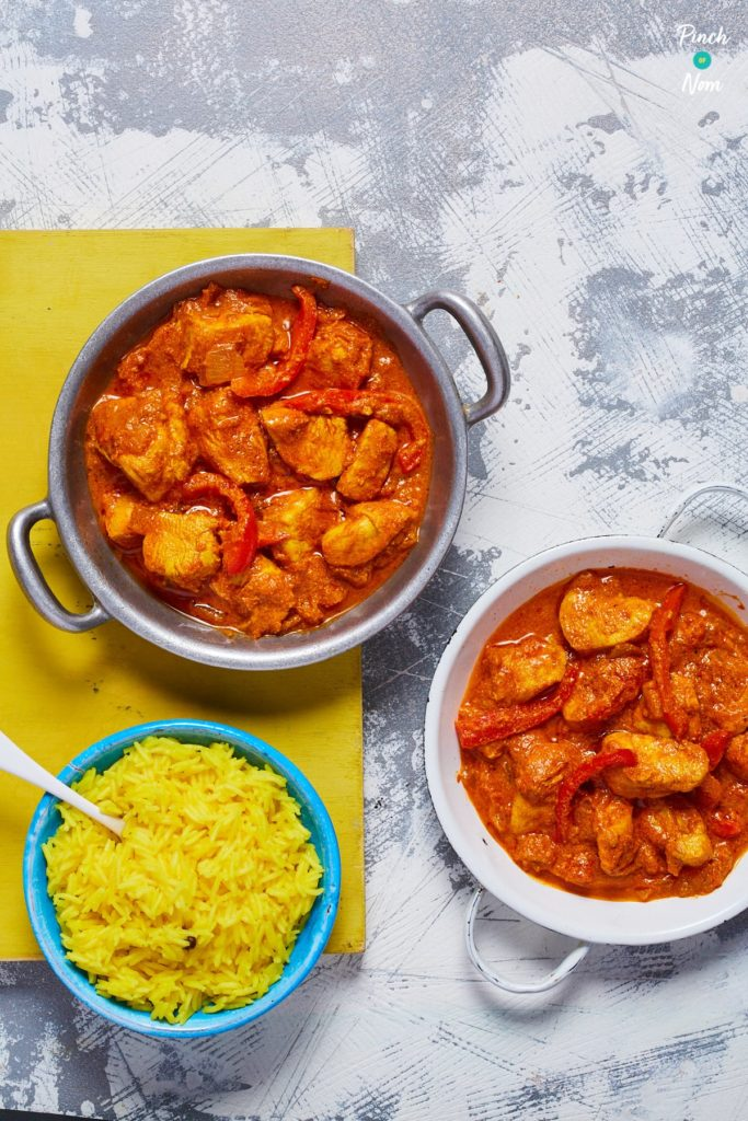 Chicken Tikka Masala Curry pinchofnom.com