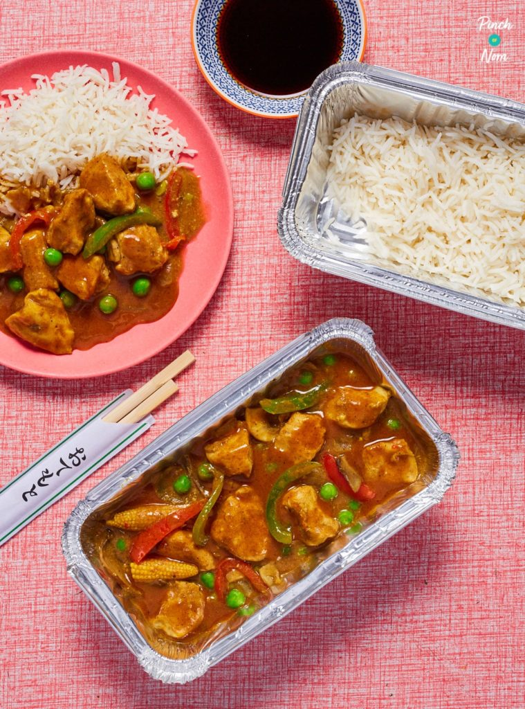 Chinese Chicken Curry pinchofnom.com