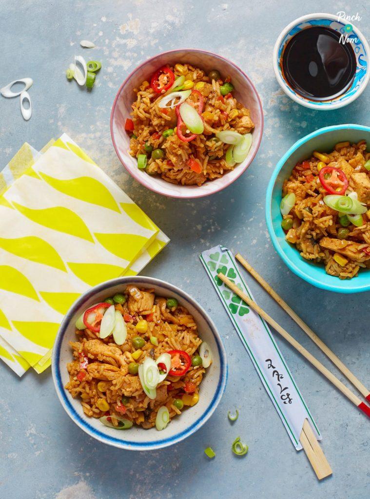 Fakeaway Fried Rice pinchofnom.com