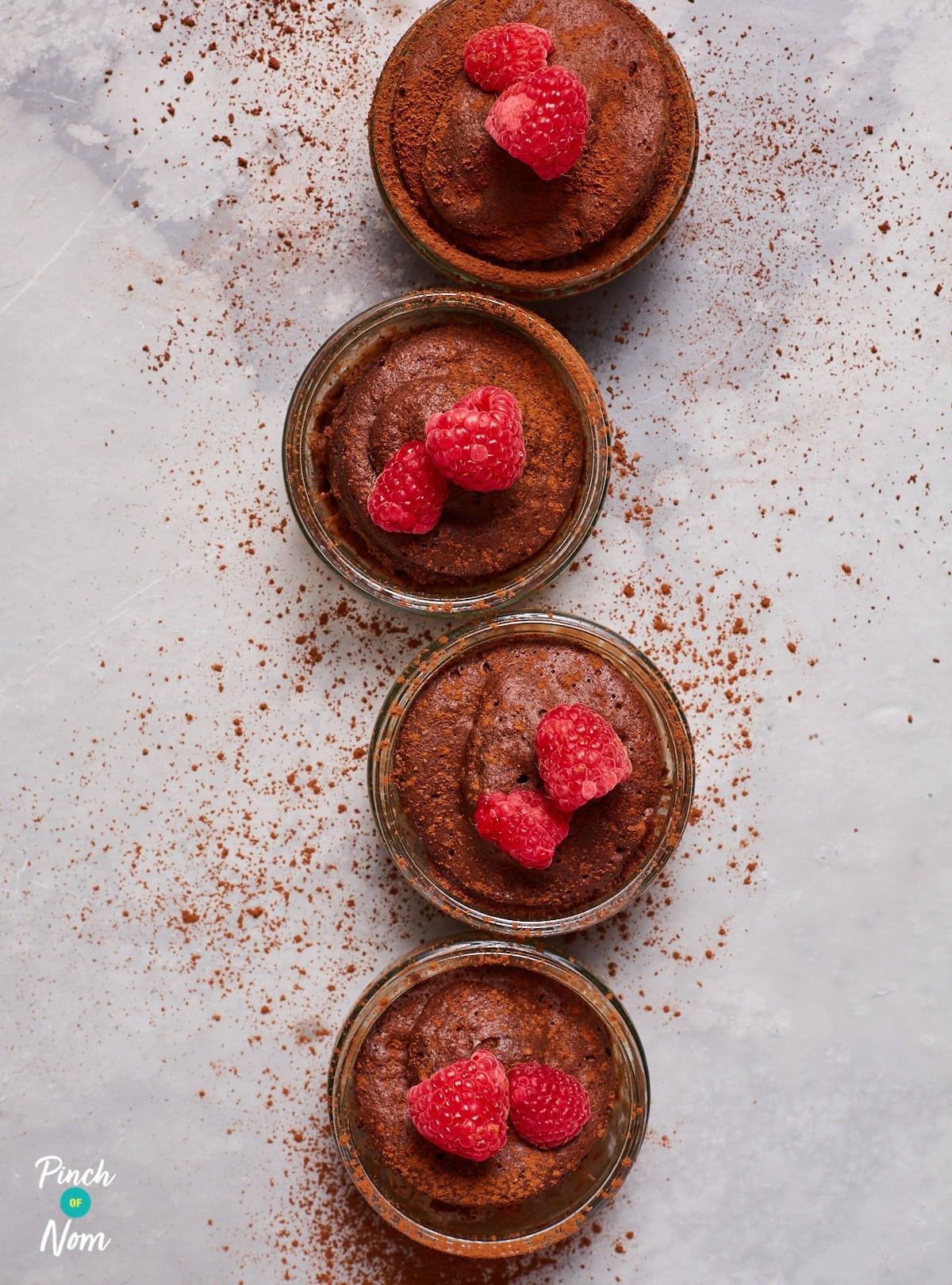 Chocolate Lava Mug Cakes Pinch Of Nom