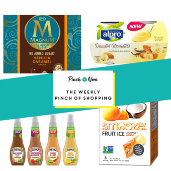 Your Slimming Essentials - The Weekly Pinch of Shopping 14.08 pinchofnom.com