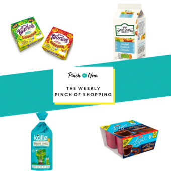 Your Slimming Essentials – The Weekly Pinch of Shopping 21.08 pinchofnom.com