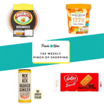 Your Slimming Essentials - The Weekly Pinch of Shopping 18.09 pinchofnom.com