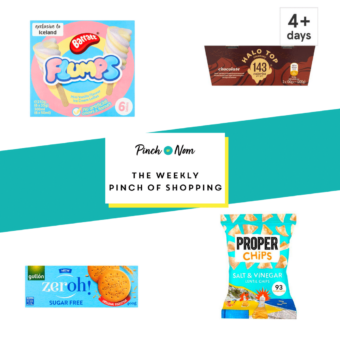 Your Slimming Essentials - The Weekly Pinch of Shopping 04.09 pinchofnom.com