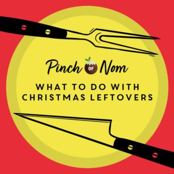 What to do with Christmas Leftovers pinchofnom.com