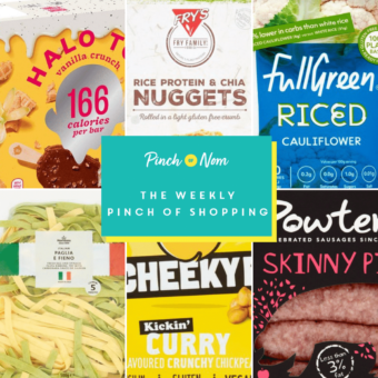 Your Slimming Essentials - The Weekly Pinch of Shopping 29.01 pinchofnom.com