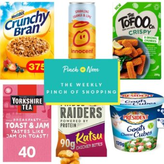 Your Slimming Essentials - The Weekly Pinch of Shopping 19.02 pinchofnom.com