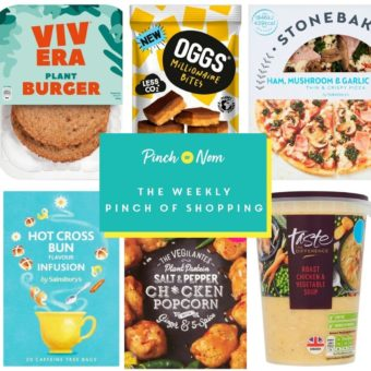 Your Slimming Essentials - The Weekly Pinch of Shopping 26.02 pinchofnom.com