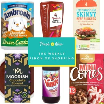 Your Slimming Essentials - The Weekly Pinch of Shopping 02.04 pinchofnom.com