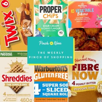 Your Slimming Essentials - The Weekly Pinch of Shopping 21.05 pinchofnom.com